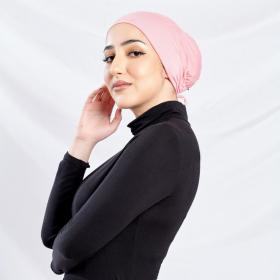 AMANI Underscarf in Blush Pink