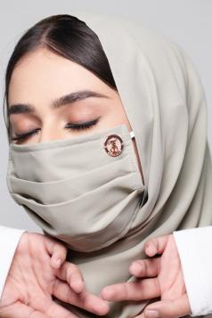 LAYLA Chiffon Mask in Matcha